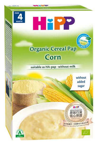 HIPP Био Бебешка безглутенова инстантна каша царевица 200 гр.